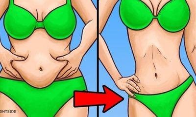 Giảm béo bụng nhanh, đơn giản đến bất ngờ nhờ phương pháp kết hợp này