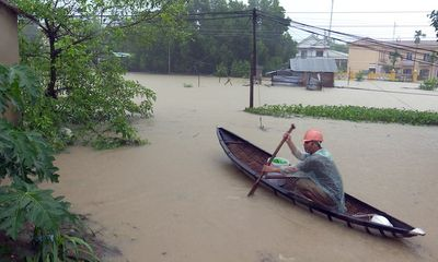 Phú Yên: Cảnh báo lũ lịch sử sau khi bão số 12 đổ bộ