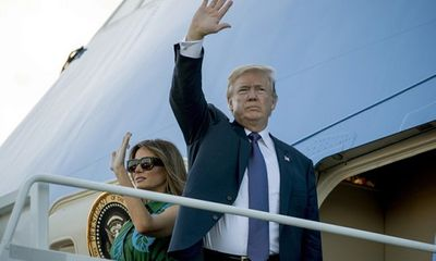 Rời Hawaii, Tổng thống Trump bắt đầu công du Nhật Bản