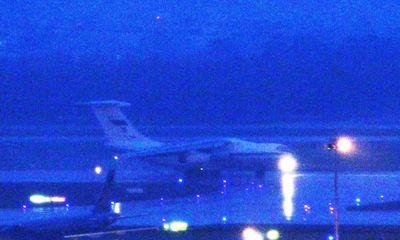 Chuyên cơ vận tải Nga hạ cánh xuống sân bay Đà Nẵng