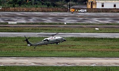 Trực thăng Marine One của Tổng thống Mỹ có màn bay thử ấn tượng tại Đà Nẵng