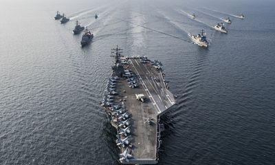 3 tàu sân bay Mỹ đồng loạt tập trận gần châu Á