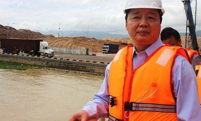 Bộ trưởng Trần Hồng Hà nói về việc nhận chìm 439.000 m3 bùn xuống biển Quy Nhơn