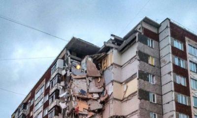 Nga: Sập chung cư 9 tầng từ thời Liên Xô cũ