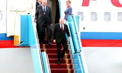 Tổng thống Putin đã đến Đà Nẵng dự APEC