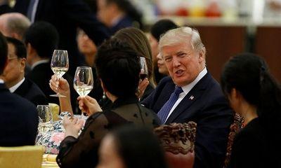 Hé lộ thực đơn quốc yến Trung Quốc thết đãi ông Trump