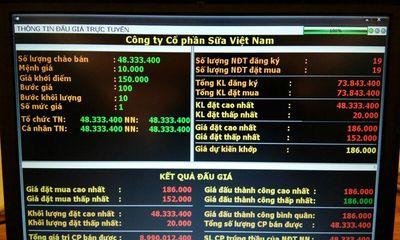 """Nhà đầu tư ngoại chi gần 9 nghìn tỷ, """"hốt trọn"""" 48,3 triệu cổ phiếu Vinamilk"""