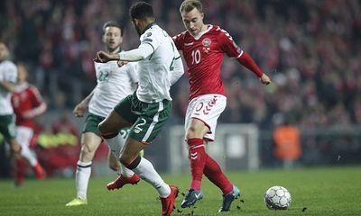 Play-off World Cup 2018: Đan Mạch bất lực để Ireland