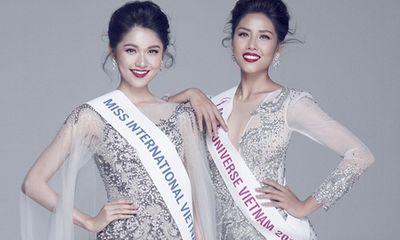 Đang thi Miss Universe, Nguyễn Thị Loan vẫn chúc Thuỳ Dung may mắn ở Miss International