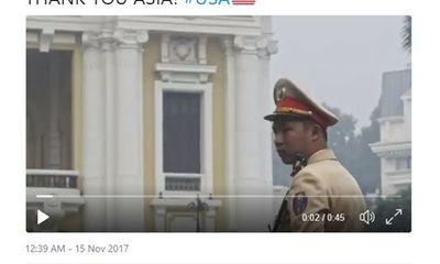 Ông Trump đăng video cảm ơn châu Á, hình ảnh Việt Nam xuất hiện đầu tiên