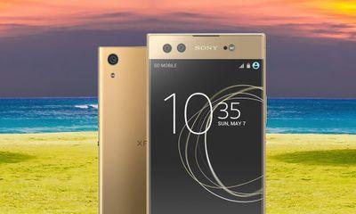 Sony ra mắt điện thoại có camera selfie kép