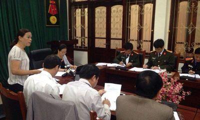 Công an tỉnh Sơn La thông tin việc bắt tạm giam 2 Phó giám đốc sở và 15 cán bộ
