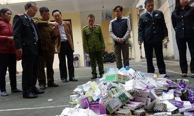 Hải Phòng: Tiêu huỷ toàn bộ lô thuốc chữa bệnh trị giá 300 triệu đồng không rõ nguồn gốc