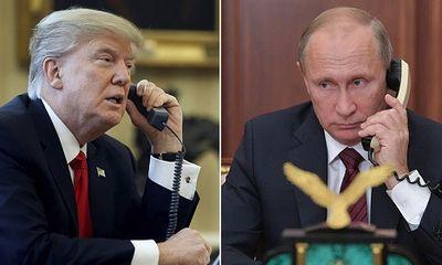 Tổng thống Trump, Putin điện đàm hơn 1 giờ, bàn về Triều Tiên và Syria