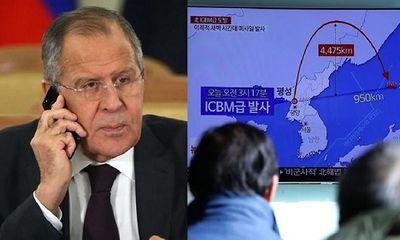 Ngoại trưởng Nga tố Mỹ kích động Triều Tiên thử tên lửa