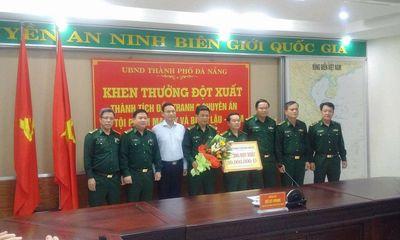 Phá thành công chuyên án ma túy, biên phòng Đà Nẵng được thưởng nóng