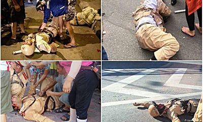"""Những lần đối mặt """"tử thần"""" của chiến sĩ CSGT"""
