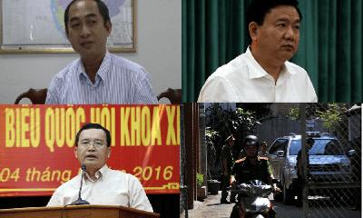 4 quan chức cấp cao bị bắt trong ngày 8/12