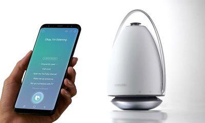 Samsung sắp ra mắt loa thông minh tích hợp trợ lý ảo vào đầu năm 2018