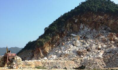 Đình chỉ hoạt động mỏ đá ở Nghệ An sau tai nạn chết người
