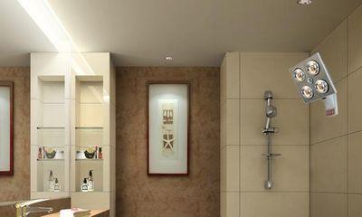 Mùa đông thắp đèn sưởi trong nhà tắm theo cách này vừa an toàn, vừa tiết kiệm điện
