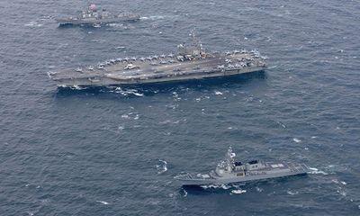 Mỹ sắp điều thêm tàu chiến đến Tây Thái Bình Dương đối phó Triều Tiên
