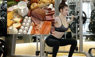 Thực đơn cho người tập gym vừa giàu dinh dưỡng lại giúp cơ thể săn chắc