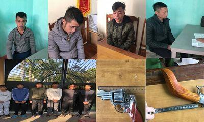 Vụ dùng súng tự chế bắn cảnh sát bị thương: Bắt giữ 10 đối tượng