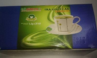 Tá hỏa phát hiện hàng trăm sinh vật lạ bò trong gói trà giảm cân Hùng Thái