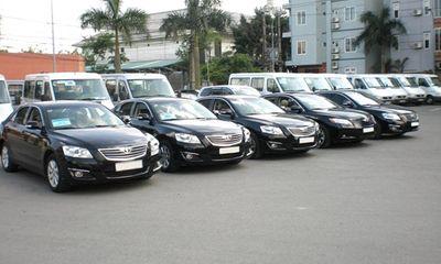 Bộ Tài chính lên phương án xử lý hàng nghìn xe công dư thừa