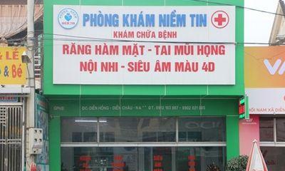 Trưởng trạm y tế mở phòng khám không phép để