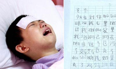 Lá thư đẫm nước mắt của bé gái mắc bệnh ung thư mong được chết để mẹ quay về