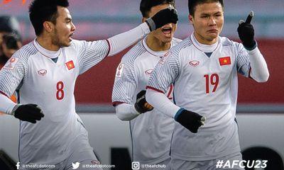 Clip: Bàn thắng ấn tượng của U23 Việt Nam vào lưới U23 Qatar