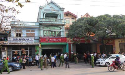 Trích xuất camera, nhận dạng nghi can cướp ngân hàng ở Bắc Giang