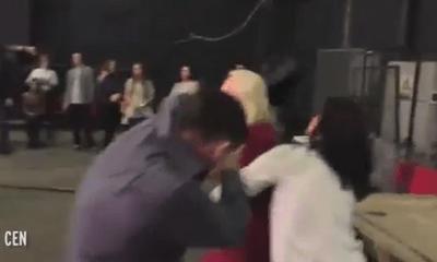 Phát hiện bị 'cắm sừng', vợ đánh chồng ngay trước lúc lên sóng truyền hình