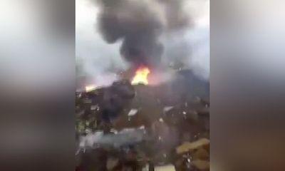 Đang diễn tập, máy bay quân sự Trung Quốc bất ngờ gặp nạn