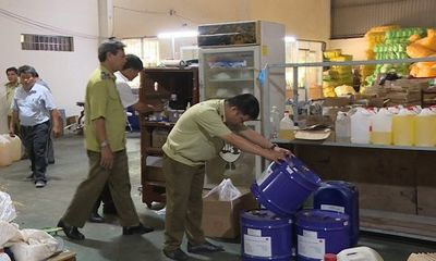 Phát hiện gần 500 nghìn sản phẩm dầu gội, sữa tắm