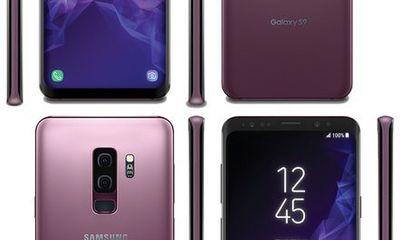 Lộ diện Samsung Galaxy S9/S9+ với 4 màu sắc tuyệt đẹp