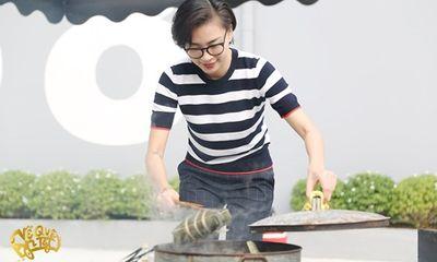 Ngô Thanh Vân - Jun Phạm tự tay gói bánh chưng đón Tết