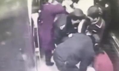 Không kịp vào phòng sinh, bà bầu sinh con ngay trong thang máy bệnh viện