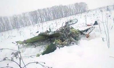 Vụ máy bay chở 71 người rơi tại Nga: Tìm thấy hộp đen