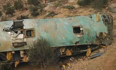 Tai nạn xe buýt thảm khốc ở Peru, ít nhất 44 người chết