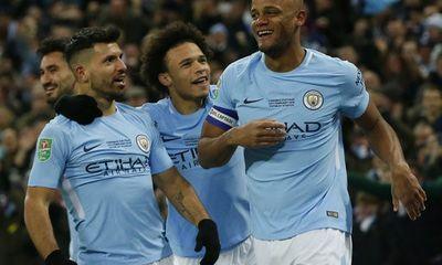 Video Arsenal 0-3 Man City: Guardiola giành chiếc cúp đầu tiên