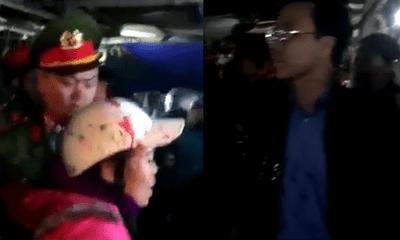 Hà Tĩnh: Khởi tố nữ tiểu thương hắt tiết lợn vào chủ tịch huyện