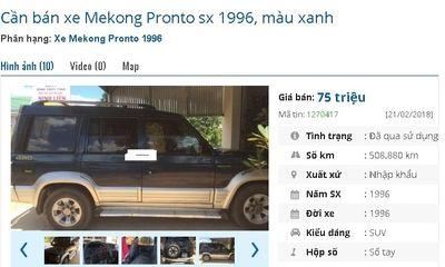 Loạt ô tô cũ chính hãng giá chỉ 75 triệu đồng đang rao bán tràn lan