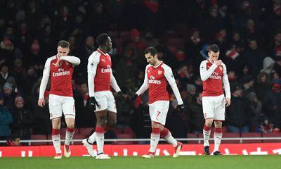Clip Arsenal 0-3 Man City: Thêm một lần đau