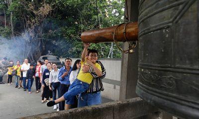Nhiều ngôi chùa ở TP.HCM dừng hẳn việc đốt vàng mã