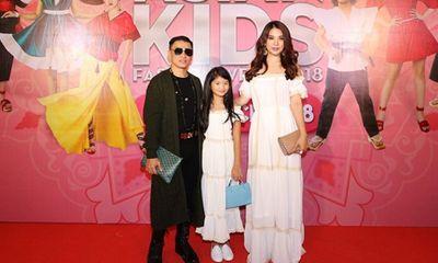 Con của Bình Minh, Trương Ngọc Ánh tự tin cùng bố, mẹ dự sự kiện