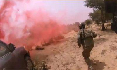 IS bất ngờ công bố video sát hại 4 binh sĩ Mỹ