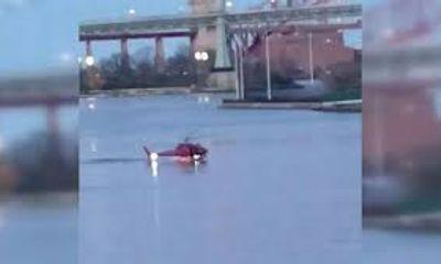Trực thăng rơi xuống sông New York, 5 người thiệt mạng